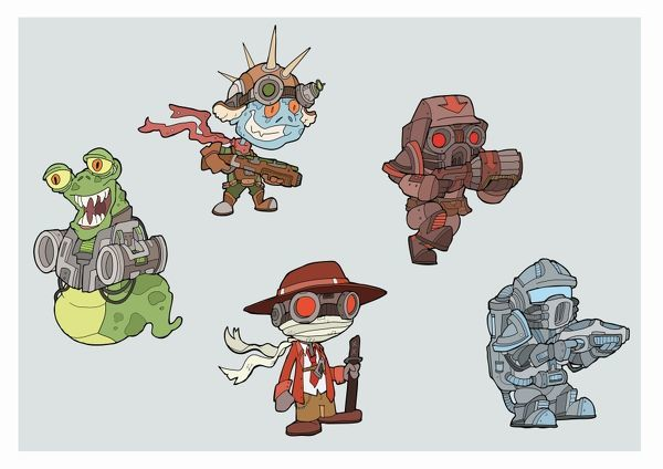Game Characters. A few more sample characters, more to come